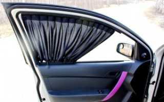 Штрафуют ли за каркасные шторки на автомобиле
