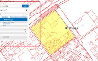 Как узнать площадь кадастрового квартала